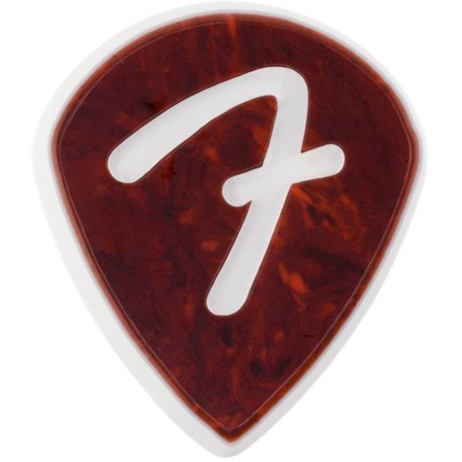 Fender - F Grip 551, Shell, Pick Pack (3)