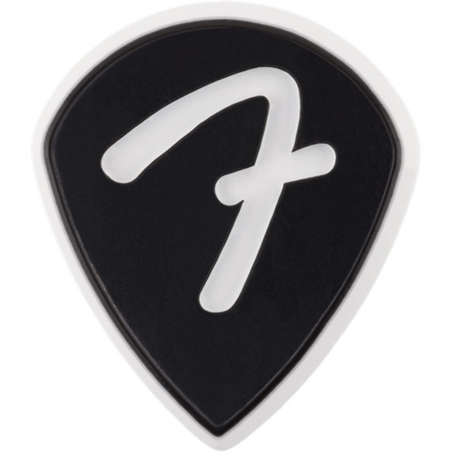 Fender - F Grip 551, Black, Pick Pack (3)