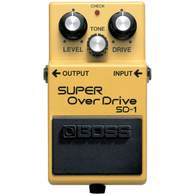Boss - SD-1 Super Overdrive Pedal