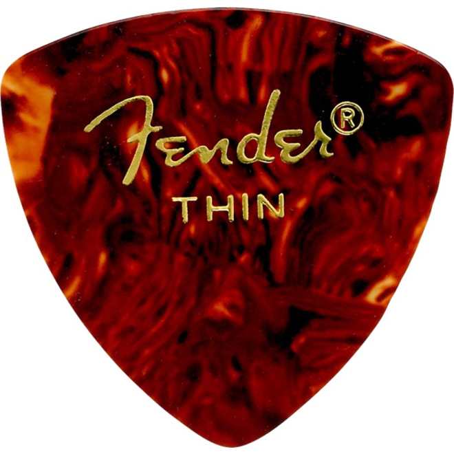 Fender - 346 Celluloid, Shell Thin, 12 Pack