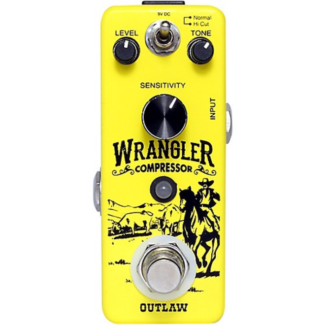 Outlaw Effects - Wrangler Compressor Pedal