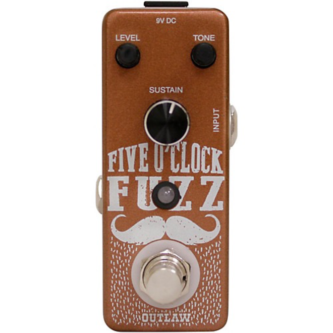 Outlaw Effects - 5 O'Clock Fuzz Pedal