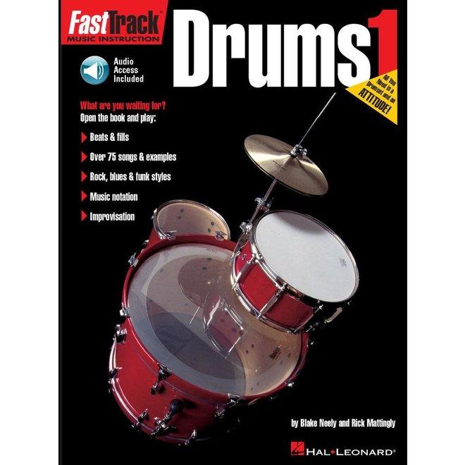 Hal Leonard - Fasttrack Drums Method, Book 1