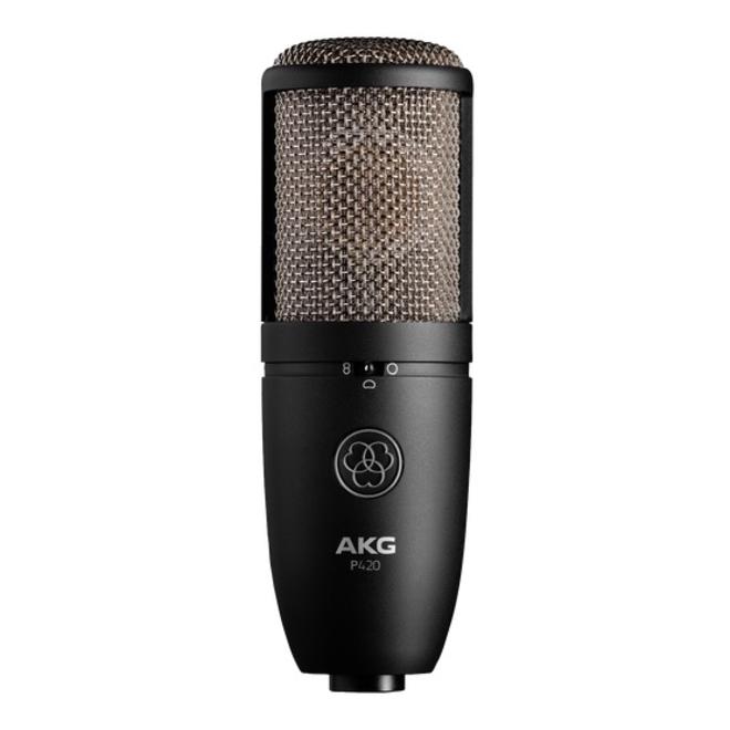 AKG - P420 Multipattern Large-diaphragm Condenser Microphone