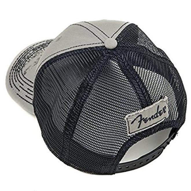Fender - Strat Trucker Hat, Grey, Onesize
