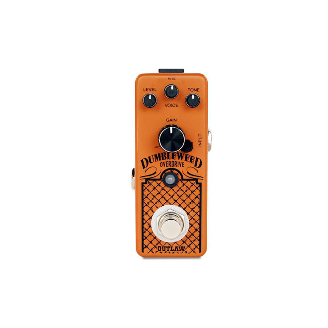 Outlaw Effects - Dumbleweed D-Style Amp Overdrive Pedal