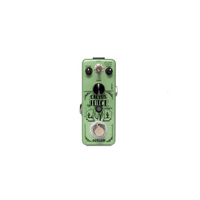 Outlaw Effects - Cactus Juice 2-Mode Overdrive Pedal