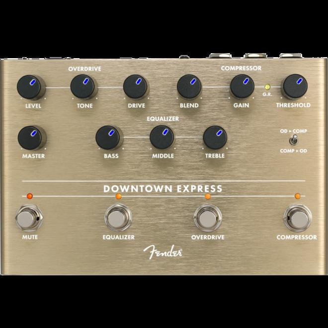 Fender - Downtown Express Bass Multi Effect Pedal