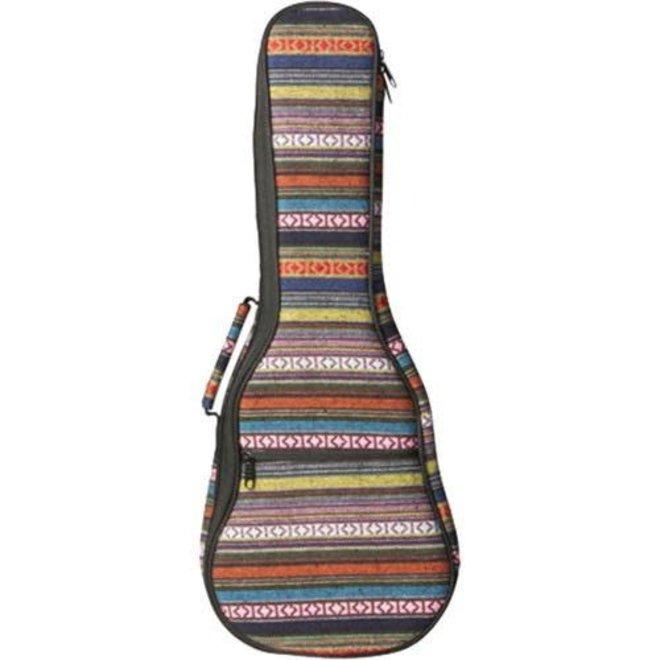On-Stage - Deluxe Striped Ukulele Bag, Concert