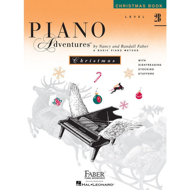 Piano Adventures - Christmas Book, Level 2B