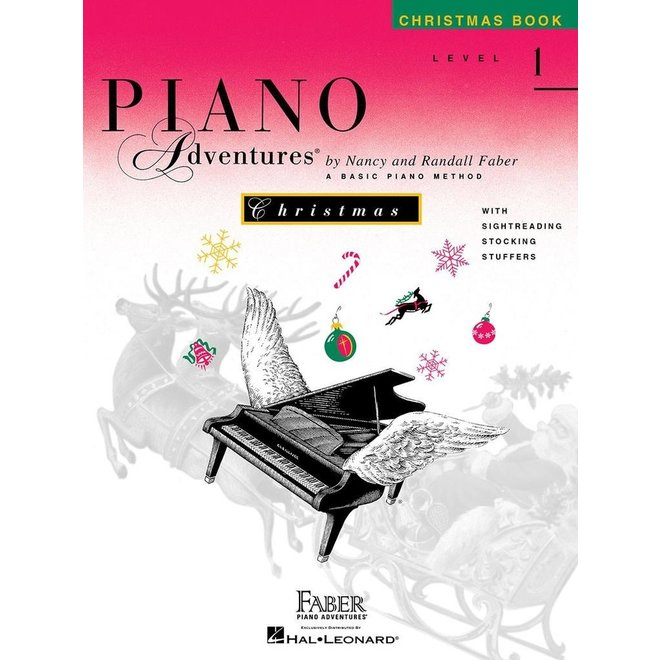 Piano Adventures - Christmas Book, Level 1