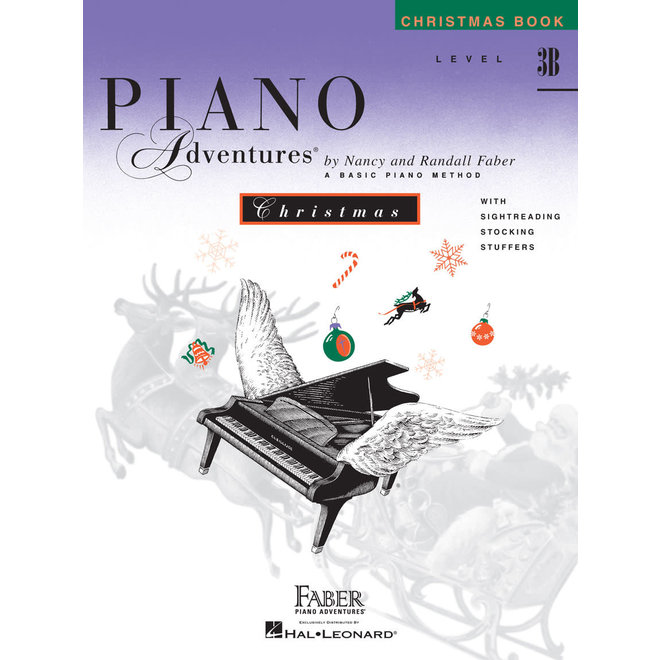Piano Adventures - Christmas Book, Level 3B
