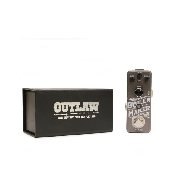 Outlaw Effects - Boiler Maker Boost Pedal