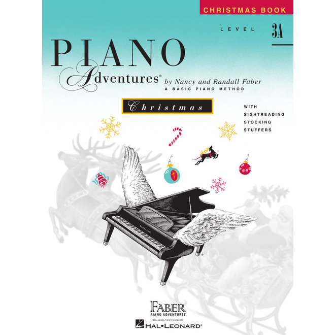 Piano Adventures - Christmas Book, Level 3A
