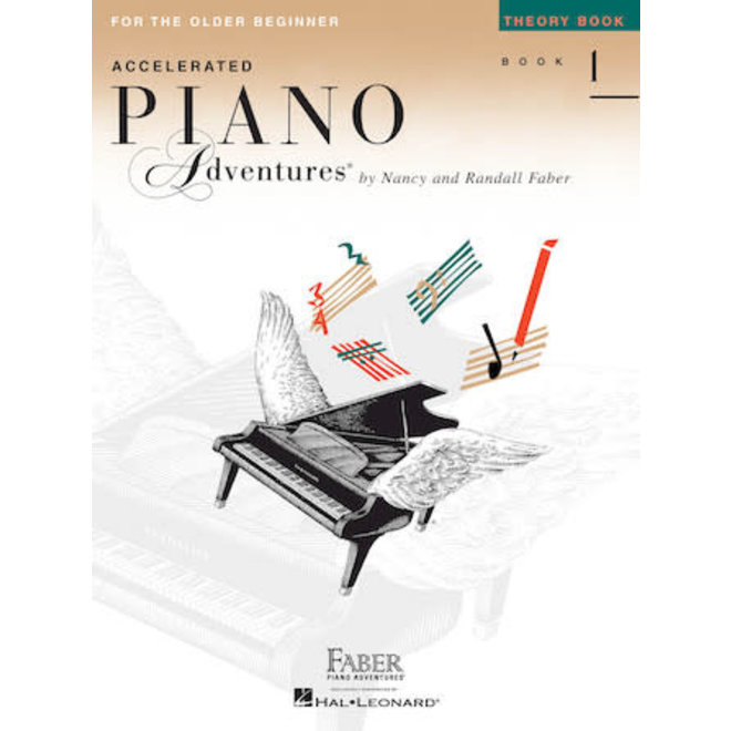 Piano Adventures - For The Older Beginnner, Book 1, Theory