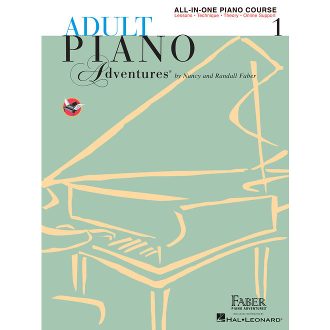 Adult Piano Adventures - All-In-One Lesson Book 1