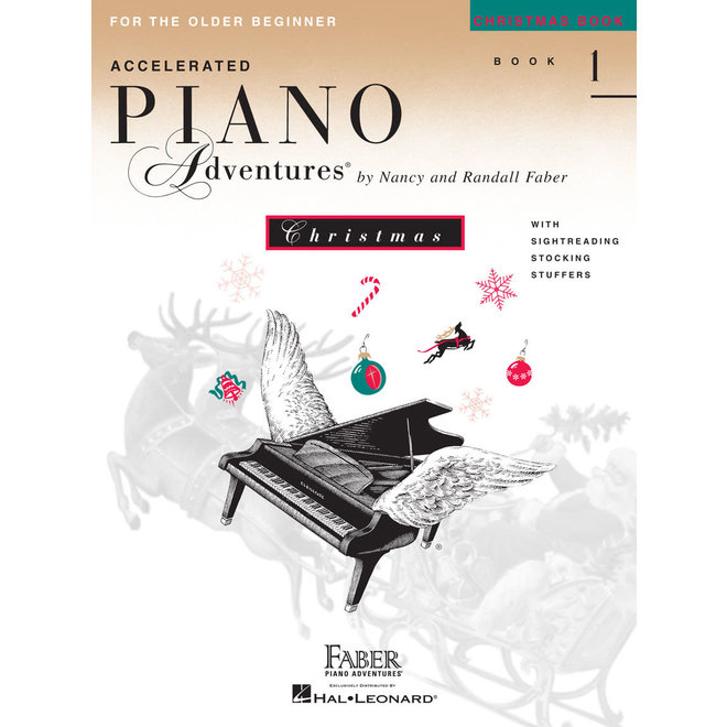 Piano Adventures - For The Older Beginner, Book 1, Christmas