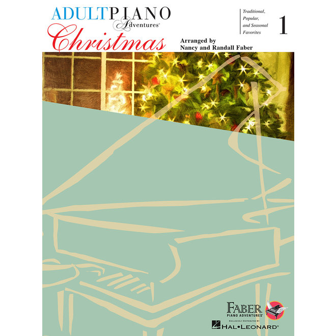 Adult Piano Adventures - Christmas for All Time, Book 1 w/Enhanced CD