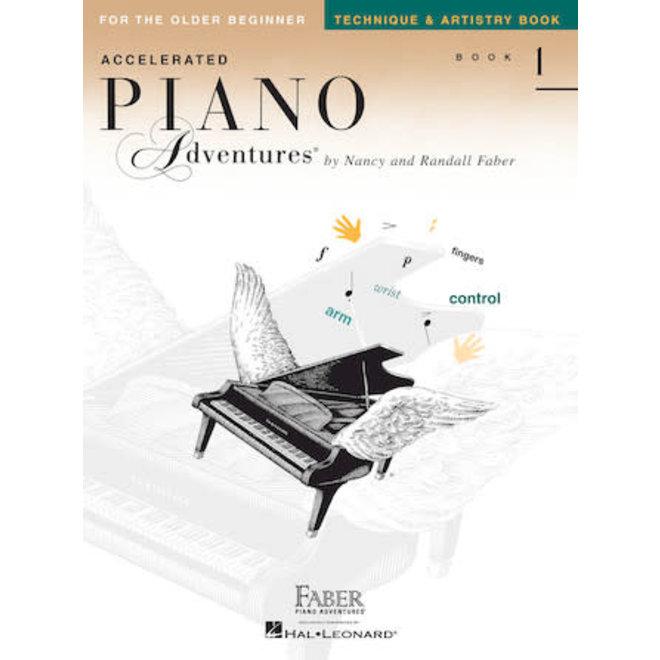 Piano Adventures - For The Older Beginnner, Book 1, Technique & Artistry