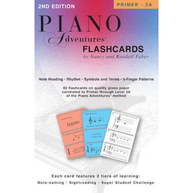 Piano Adventures - FlashCards In-a-Box
