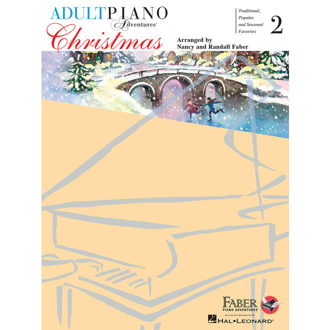 Adult Piano Adventures - Christmas for All Time, Book 2 w/Enhanced CD