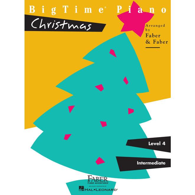 Hal Leonard - Faber BigTime Piano, Level 4, Christmas