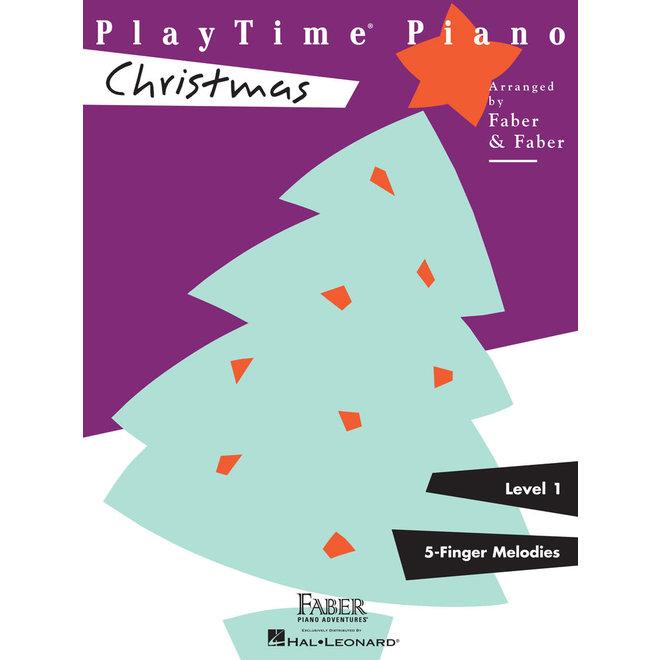 Hal Leonard - Faber PlayTime Piano, Level 1, Christmas