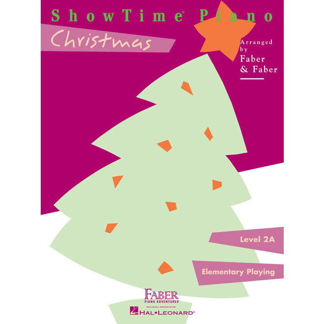 Hal Leonard - Faber ShowTime Piano, Level 2A, Christmas