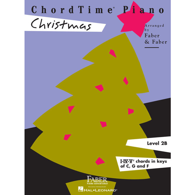 Hal Leonard - Faber ChordTime Piano, Level 2B, Christmas