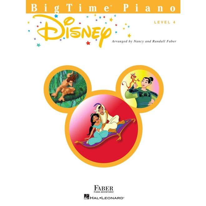 Hal Leonard - Faber BigTime Piano, Level 4, Disney