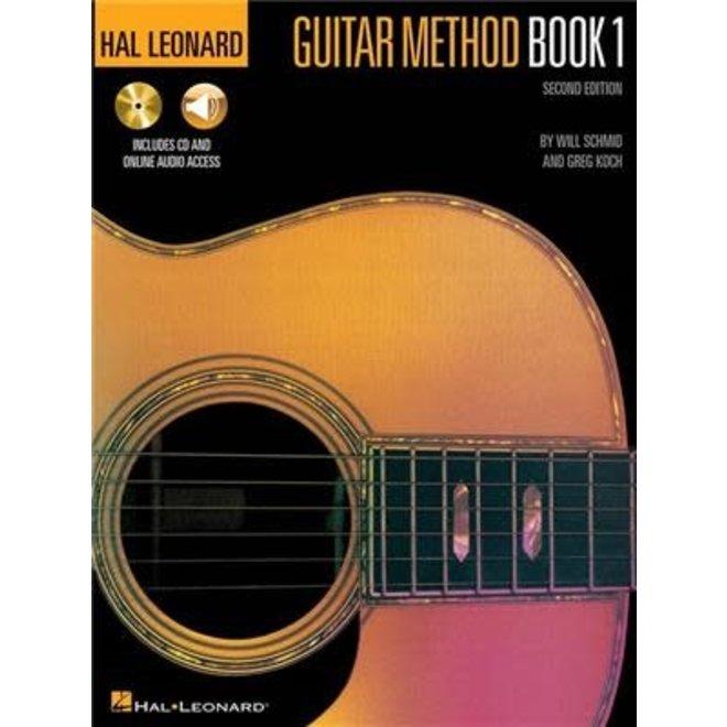 Hal Leonard - Guitar Method Book 1 w/CD & Online Media