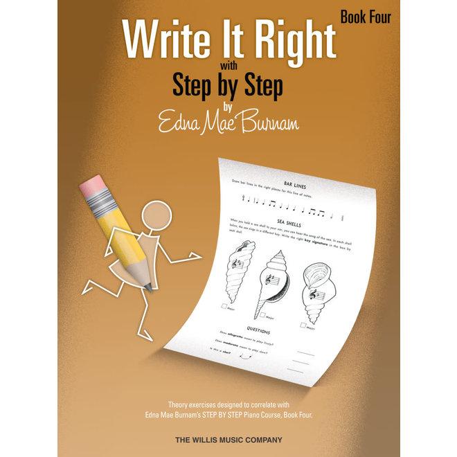 Hal Leonard - Write It Right, Book 4