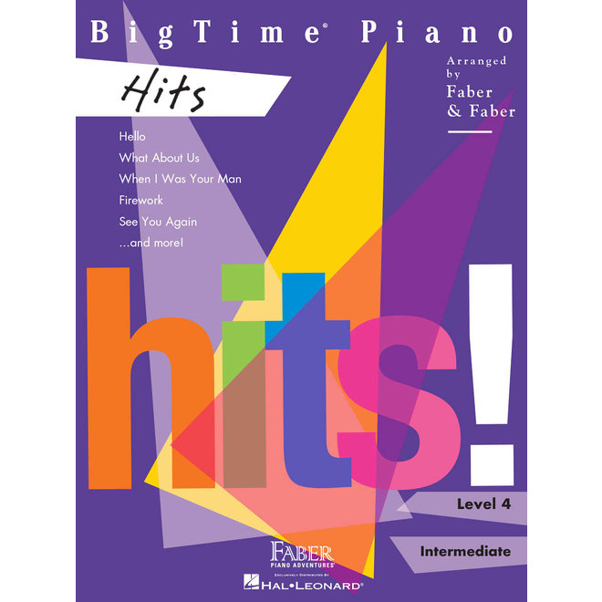 Hal Leonard - Faber BigTime Piano Level 4, Hits