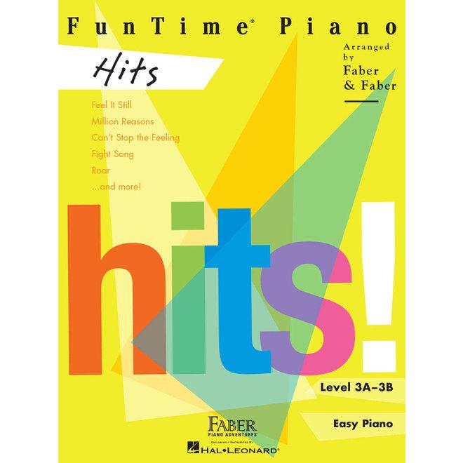 Hal Leonard - Faber FunTime Piano Level 3A-3B, Hits