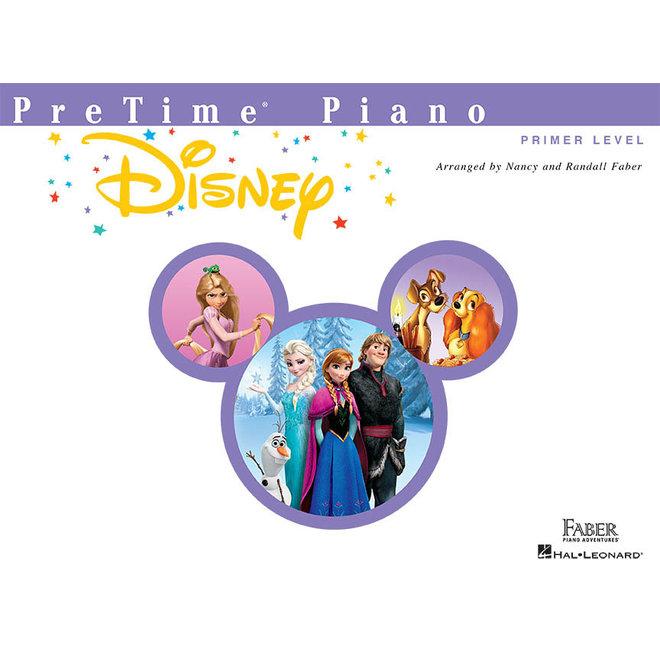 Hal Leonard - Faber PreTime Piano, Primer Level, Disney
