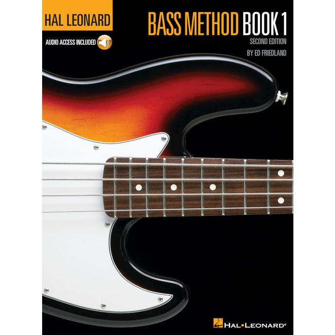 Hal Leonard - Bass Method, Book 1, w/CD