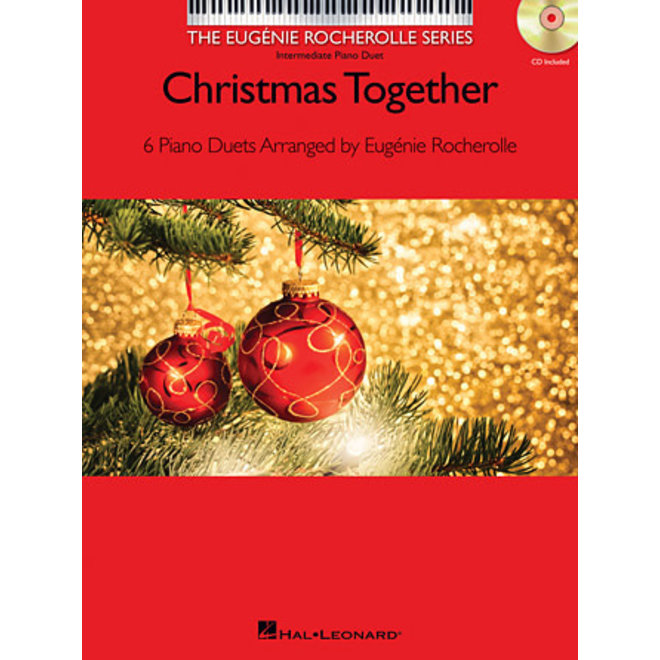Hal Leonard - Christmas Together, Duet Book w/CD