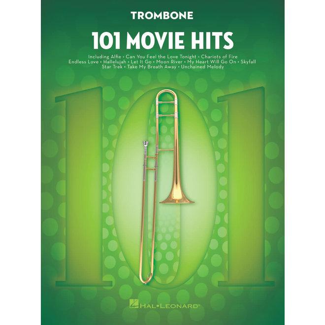 Hal Leonard - 101 Movie Hits, Trombone