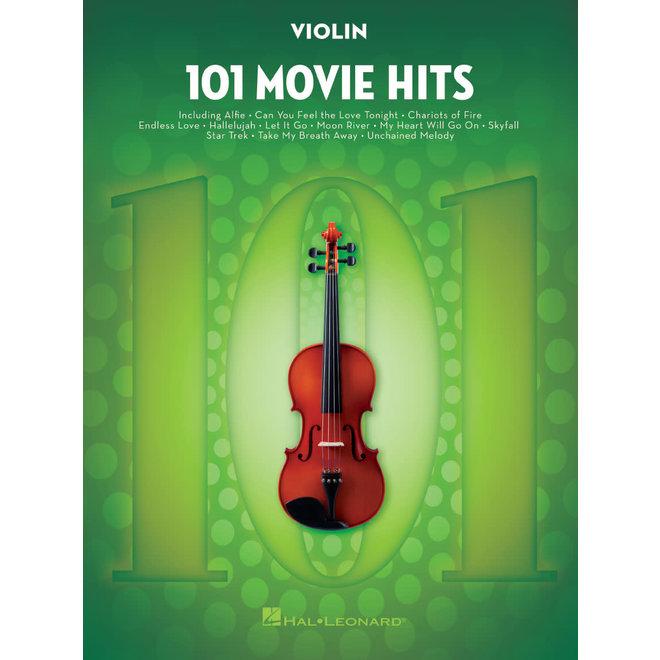 Hal Leonard - 101 Movie Hits, Violin
