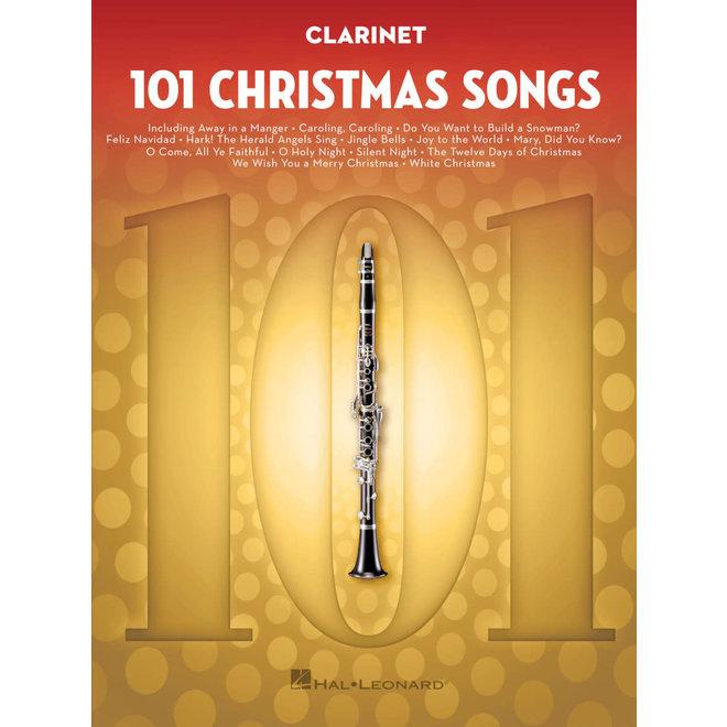 Hal Leonard - 101 Christmas Songs, Clarinet
