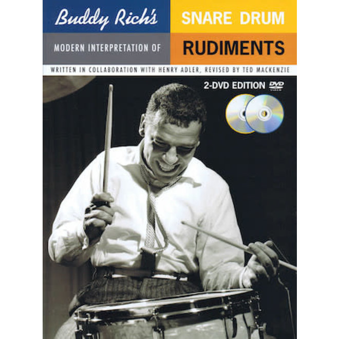 Hal Leonard - Buddy Rich, Snare Drum Rudiments, Book and DVD