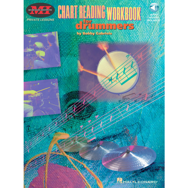 Hal Leonard - Chart Reading Workbook for Drummers w/CD