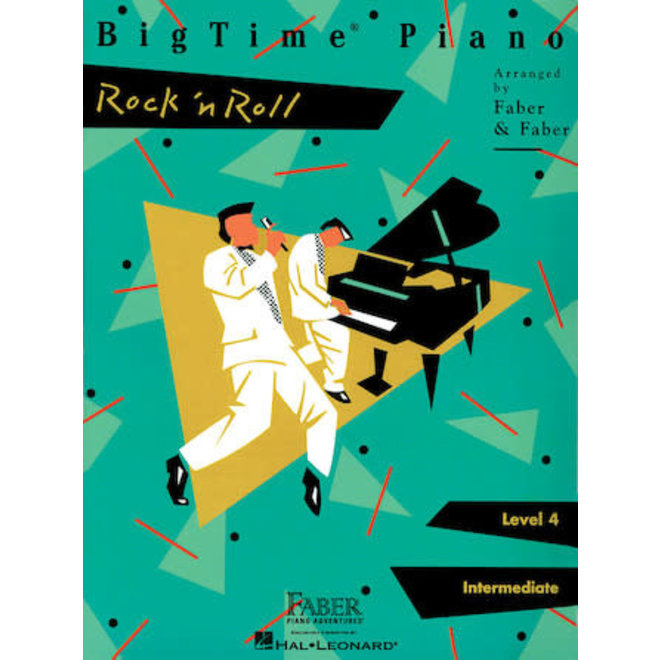 Hal Leonard - Faber BigTime Piano, Level 4, Rock 'n Roll