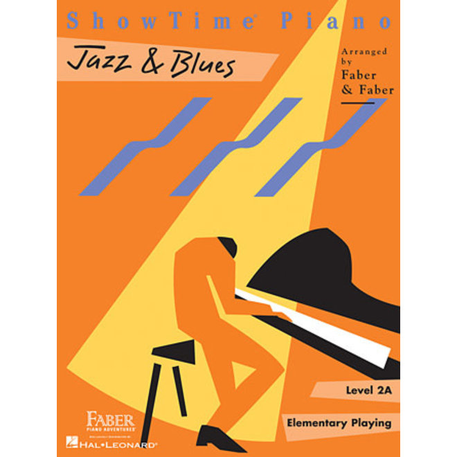 Hal Leonard - Faber ShowTime Piano, Level 2A, Jazz & Blues