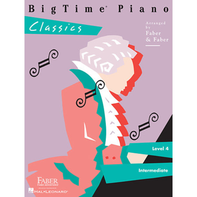 Hal Leonard - Faber BigTime Piano, Level 4, Classics