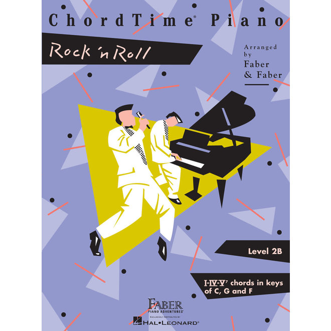 Hal Leonard - Faber ChordTime Piano, Level 2B, Rock 'n' Roll