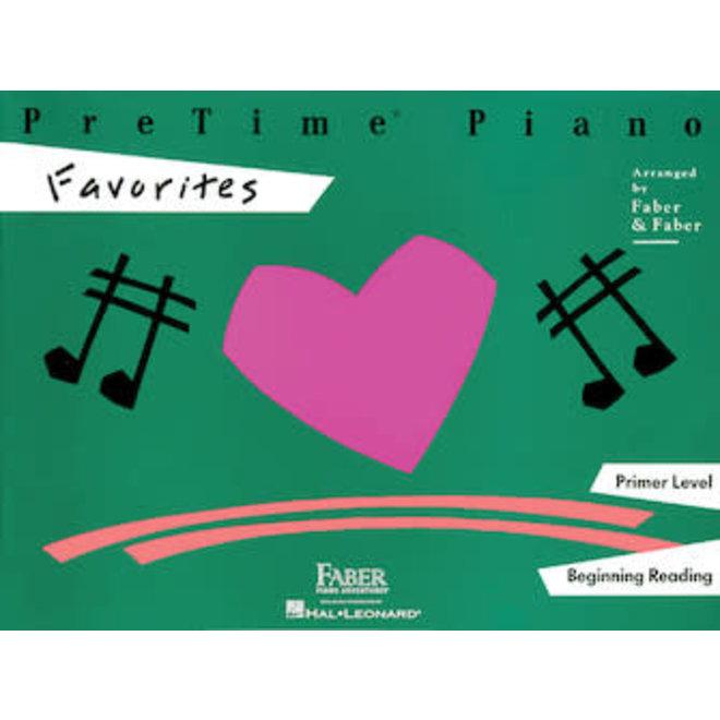 Hal Leonard - Faber PreTime Piano, Primer Level, Favorites