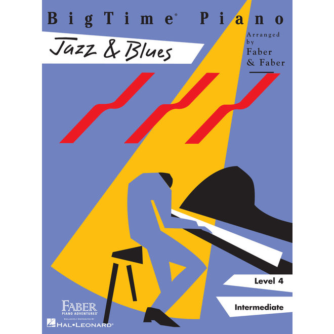Hal Leonard - Faber BigTime Piano, Level 4, Jazz & Blues