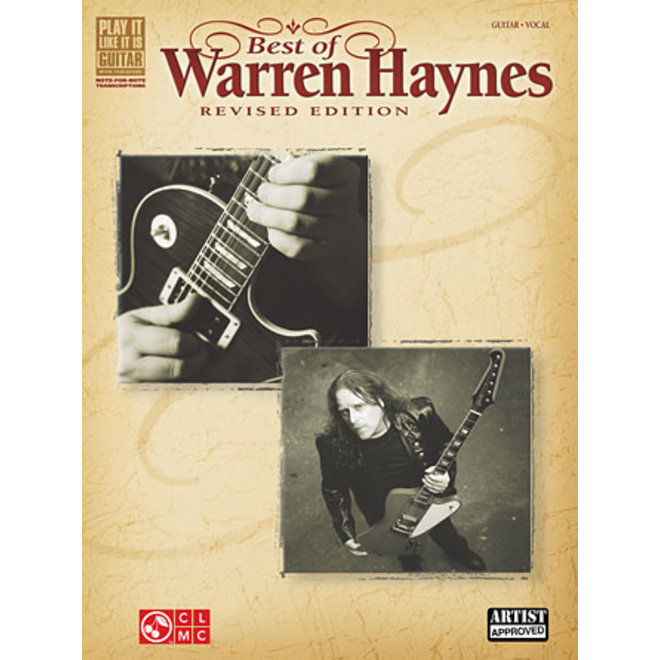 Hal Leonard - Best of Warren Haynes