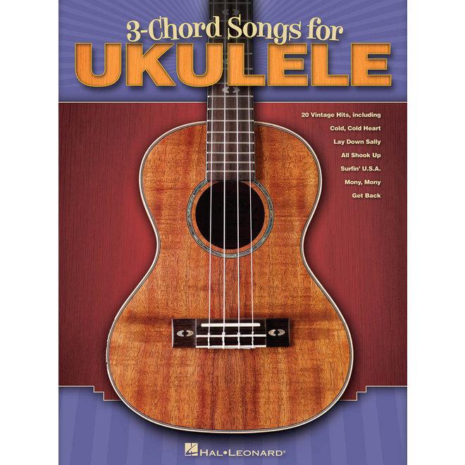 Hal Leonard - 3-chord songs, Ukulele